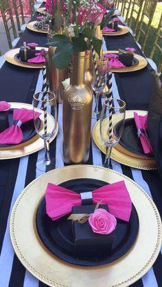 Floral-Kate-Spade-Inspired-Bridal-Shower-Bottle-Vases