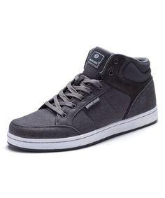 Dark Gray Hi-Top Sneaker