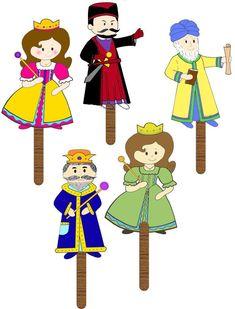 Felt Puppets, Hand Puppets, Finger Puppets, Preschool Themes, Preschool Crafts, Crafts For Kids, Bible Activities, Alphabet Activities, Queen Esther Bible
