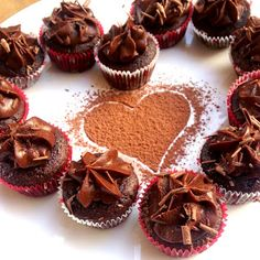 Chocolatey Paleo Cupcakes with Chocolate Sweet Potato Frosting  Recipe