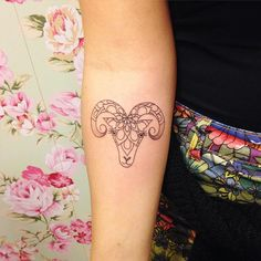 #tatianaalves áries aries tatuagem tattoo
