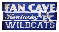 University of Kentucky bedroom | University of Kentucky Wildcats Fan Cave Plank Wood Sign
