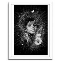 J.FIVE by Nicolas Obery FANTASMAGORIK  // print 40x60cm// Papier fine Art Innova 300g // 50 ex only