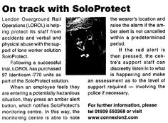 On Track with SoloProtect