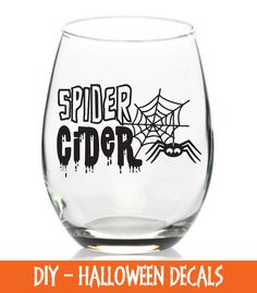 cheers witches decal diy decals for wine glasses plastic cups and