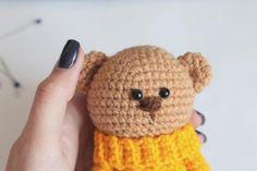 Amigurumi Crochet Patterns Teddy Bears : Sweet heart bears free bear crochet pattern free amigurumi