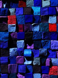 Cosmetics I — Richard Pierce Colour Pallette, Colour Schemes, Shades Of Blue, Red And Blue, My Favorite Color, Textures Patterns, Art Direction, Color Inspiration, Bunt
