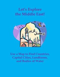 "$3 This assignment is titled ""Let's Explore the Middle East! Use a Map to Find Countries, Cities, Landforms, and Bodies of Water."" This assignment includes 20 questions that require students to analyze a map of the Middle East for national borders, capital cities, landforms, and bodies of water. Here are two sample questions: ""In which country is Mount Demavend located?"" and ""Name at least three countries that border the Red Sea."""