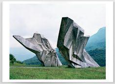 Balkanboeken: Joegoslavië: Jan Kempenaers, Spomenik.