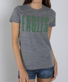 Women's Oakland Raiders Junk Food Steel Touchtown Tri-blend T-Shirt