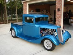1934 FORD HENRY FORD STEEL SHOW TRUCK