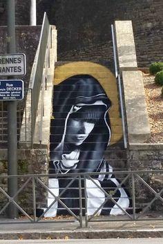 ZAG x Sìa /// « La Vannetaise – Ecclésia », Vannes - www.street-art-avenue.com