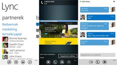 Lync 2013 application update for Windows Phone 8 devices   Microsoft recently released an update for Lync 2013 enterprise instant messaging client for Windows Phone 8 devices - 5.3.1037.0. The latest version includes two new features to the application, which can be viewed in a joint meeting with a PowerPoint presentation on Lync and Lync can control the sound.