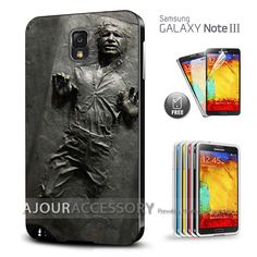 Soft Durable Case Cover Star Wars Han Solo In Carbonite For Samsung Galaxy Note & S Series