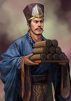 Heimin - Samaiken Burócrata de la Corte Grulla y jefe de criados del castillo