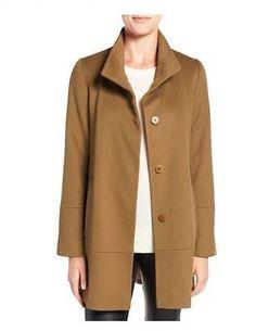 Fleurette-Vicuna-Stand-Collar-Loro-Piana-Wool-Coat-Petite-12P