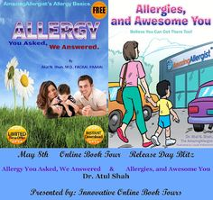 Blog Tour (Interview): Allergies by Dr. Atul N. Shah