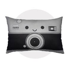 tricia another one for you bro  camera pillow