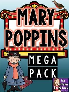 Mary Poppins Mega Pack by The Bulletin Board Lady-Tracy King Disney Classroom, Music Classroom, Classroom Themes, Mary Poppins Book, List Of Activities, Drama Activities, Music Sub Plans, Teaching Music, Teaching Resources