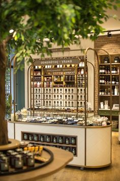 View the full picture gallery of ''Areland'' Nuts Store Commercial Interior Design, Shop Interior Design, Cafe Design, Commercial Interiors, Design Shop, Design Design, Architecture Restaurant, Restaurant Design, Chocolate Store Design
