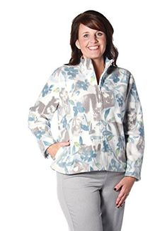 Alfred Dunner Northern Lights Floral Patch Fleece Jacket Multi P Floral Patches, Alfred Dunner, Casual Jackets, Womens Fashion, Northern Lights, Clothes, Tops, Products, Outfits