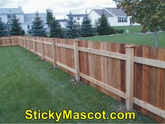 Amazing  Wood Fence 6 X 8