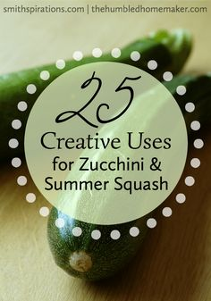 As summer starts to wind down, zucchini plants are really gearing up! Try some of these creative ways to use zucchini and summer squash and take advantage of this frugal vegetable's abundance. saving money tips, saving money ideas, saving, tips Zucchini Plants, Zucchini Squash, Real Food Cafe, How To Read A Recipe, Pumpkin Squash, Healthy Side Dishes, Summer Squash, Food Hacks, Food Tips