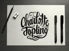 Charlotte Jopling Photography #typography