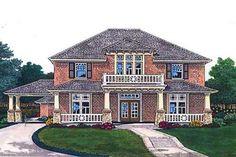 Interesting floor plan in this plantation design at houseplans.com  House Plan 310-704