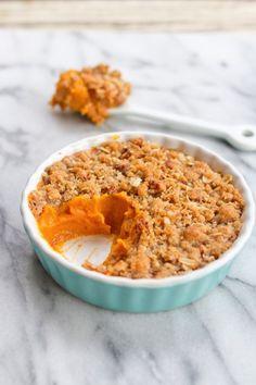 Sweet Potato Casserole // Vegan and Gluten-Free