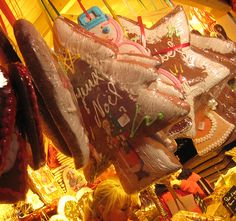 Paris Christmas Markets: Gingerbread and other traditional treats are among the hand-made staples at Paris Christmas markets.