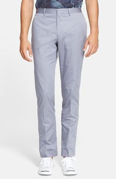 PS Paul Smith Slim Fit Cotton Trousers available at #Nordstrom
