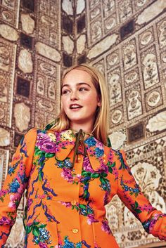Jean Campbell Wears Bright Beauty Lensed By Ryan McGinley In India For W Magazine December 2017