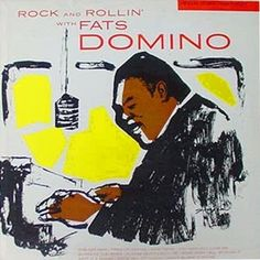 FATS DOMINO - ROCK AND ROLLIN' WITH - IMPERIAL LP