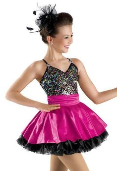 Dance Costume Large Child Sequin Dress Jazz Tap Solo Competition Pageant Glitz #Weissman