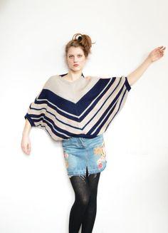 Oversized Wool Handmade Jumper