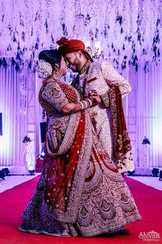 "Photo from album ""Wedding photography"" posted by photographer Shivam Studio Petlad Beige Suits, Couple Shots, Bridal Lehenga, Photo Sessions, Candid, Groom, Sequins, Wedding Photography, Album"