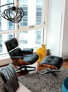 Con el Louge Chair y su Ottoman, Charles y Ray Eames establecieron un nuevo referente en el confort.