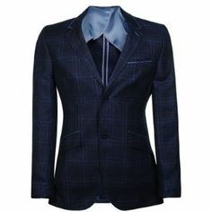 HOLLAND ESQUIRE Wool Linen Check Jacket | Flannels