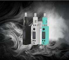Evic VTC Mini Kit A bite-sized version of the excessively popular Joyetech eVic-VTC, the Mini version promises the same level of power and performance in a more compact package. Keeping in line with the less-is-more theme, this MOD is powered by a single (replaceable) 18650 battery, and fires up to 60W. Comes pre-installed with Ni-200 coil head, with the option to use the included Ti coil head. This starter kit is the ultimate package.