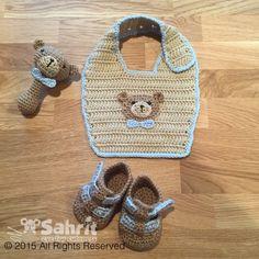 Beary Cute Baby SET Crochet Pattern