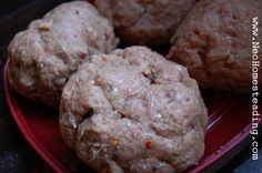 Homemade Bulk Sausage - makes 4-5 lbs.