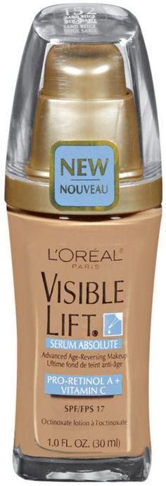 L'ORÉAL  Visible Lift Serum Absolute Foundation Classic Ivory  Item #: 2218734 Size: 1.0 oz  $13.99