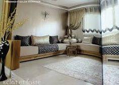 D coration de la maison decoration platre algerie faux - Salon marocain bleu roi ...