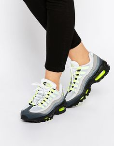 Nike - Air Max 95 - Baskets - Noir et gris