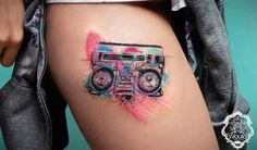 les tatouages graphique de Candelaria Carballo (23)