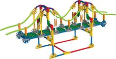 Favorite Knex Set - Goes over details on different bridge types