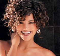 16 Short Hairstyles for Thick Curly Hair: #3. Short Hair for Curly Thick Hairstyle