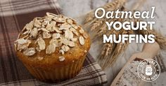 Oatmeal Yogurt Muffins
