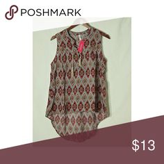 🆕SUPER BLOUSE. Blouse with tags. Xhilaration Tops Blouses